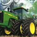 John Deere 9400 Knicklenker Traktor (Quelle: John Deere)