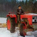Hürlimann T-6200 Traktor (Quelle: SDF Archiv)