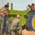 John Deere Model R Traktor technische Daten (Quelle: John Deere)