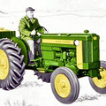 John Deere 320 Standard Traktor (Quelle: John Deere)