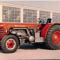 Hürlimann DH6 Traktor (Quelle: SDF Archiv)