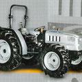 Lamborghini Crono Target 70 Kompakttraktor mit Allradantrieb (Quelle: SDF Archiv)