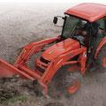 Kubota L5040 Kompakttraktor mit Allrad und Frontlader (Quelle: Kubota)