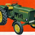 John Deere Lanz 700 Traktor (Quelle: John Deere)