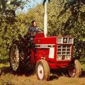 IHC 745E Plantagentraktor (Quelle: Hersteller)