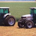 AGCO White 6124 und AGCO White 6144 Traktoren (Quelle: AGCO)