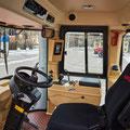 Kirovets K-525 Knicklenker Traktor Kabine (Quelle: Kirovets)