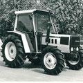 Lamborghini 660 DT Allradtraktor mit Kabine (Quelle: SDF Archiv)