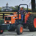 Kubota M8030DT 2-WD Traktor (Quelle: Kubota)