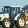 Lamborghini 1060 Allradtraktor mit Kabine (Quelle: SDF Archiv)