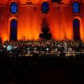 OSW School Youth Choir (140 kids!) singing with Edwin Hawkins and his New Edwin Hawkins Singers, Wädenswil, Switzerland 2015    © Jean- Daniel von Lerber