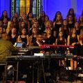 Jammin' with the New Edwin Hawkins Singers & OSW- Choir, Wädenswil, Switzerland 2015    © Jean- Daniel von Lerber