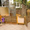 U3 Bereich - Spieleplattform mit Dauerholz Terrassendielen