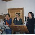 1997 - die erste Probe