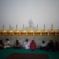 黄金寺院にて in アムリトサル