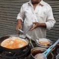 インド式オムレツ in デリー