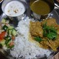 チキンマサラ パラックカレー ターリー IN 我が家