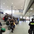 Georg-Goldstein-Schule Bad Urach, Große Pause auf der Sitztreppe in der Kaufmännische Schule *