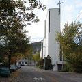 St.Wolfgang, Katholische Kirche Pfullingen, Fassadensanierung, Betonsanierung