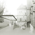 Augustin Bea Haus Reutlingen, Skizze des neuen Zugangs von Norden