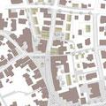 Lindenplatz Pfullingen, Umbau, Freiflächengestaltung und Sanierung