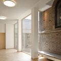 Augustin-Bea-Haus Reutlingen, Foyer Nordseite mit Betrachtungsgarten