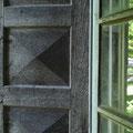 Kulturdenkmal Haus Ayen, 2011 historischer Fensterladen