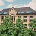 Kulturdenkmal Uhlandschule Pfullingen, Sanierung Sichtmauerwerk, Umbau Dachgeschoss zum Ganztagesbereich