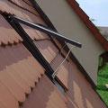 Kulturdenkmal Haus Ayen, 2011 historische, gusseiserne Dachflächenfenster
