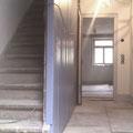 Kulturdenkmal Haus Ayen, 2011 Flur mit großformatigen Sandsteinplatten