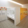 Kinderhaus Hagelloch, Wasch- und WC-Bereiche