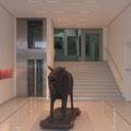 Kunsthalle Tübingen, neues Foyer mit Aufzug*