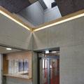 Georg-Goldstein-Schule Bad Urach, Foyer mit Galerie Kaufmännische Schule