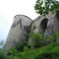 Schlossmauer Grafeneck 2009