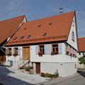Kulturdenkmal Haus Ayen, 2011 Effizienzhaus KFW 100, Südseite