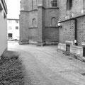 Augustin-Bea-Haus Reutlingen, Durchfahrt vor der Sanierung