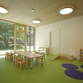 Kinderhaus Hagelloch, Gruppenraum mit Sitzecke