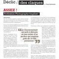 Déclic et des claques - Profession Photographe N°6 - Janvier / Février / Mars 2014