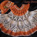 Платье и панама Оранж