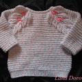 Пуловер Листики