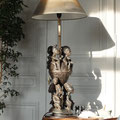 Tribu : statue africaine lumineuse