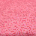 Stoff Punkte 4 - Rosa/Rot Minipunkte