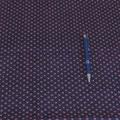 Stoff Kringel/Punkte 4 a - lila - Kringel beige