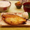 小樽市 三角市場 絶品のツボダイ定食 【撮影:2011.7.14】