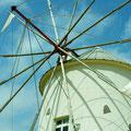 小豆島 オリーブ公園にて ギリシア風車 【2012.03.19】