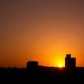金沢市昭和町 『金沢シティホテル』からの朝景 【撮影:2010.3.14】