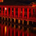 厳島神社夜景 【2012.10.26】
