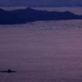 能美島砲台山(三高山)山頂から望む夕景~その2 【撮影:2010.2.4】