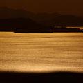 呉市安芸灘諸島 豊島の十文字展望台から望む夕景 【撮影:2010.2.6】
