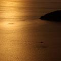 能美島砲台山(三高山)山頂から望む夕景~その1 【撮影:2010.2.4】